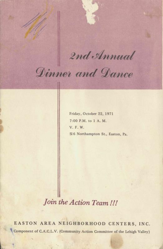 Program brochure.